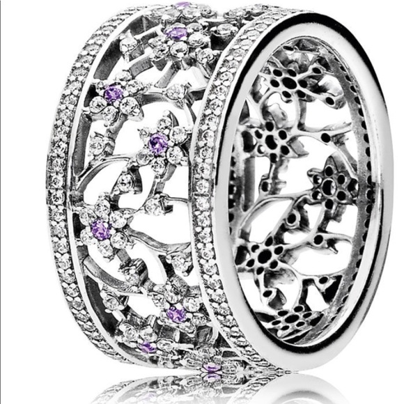 695db361f Authentic pandora forget me not ring... retired.. M_5ad288e61dffdafa07307c2a